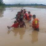 बर्दियाका गाउँमा बाढी पस्दा ९६० घर डुबानमा
